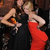 Elizabeth Banks and Sofia Vergara got sloe for a photo.