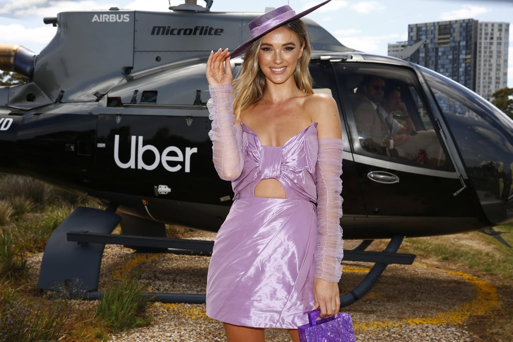 Melbourne Cup Celebrity Outfits 2019