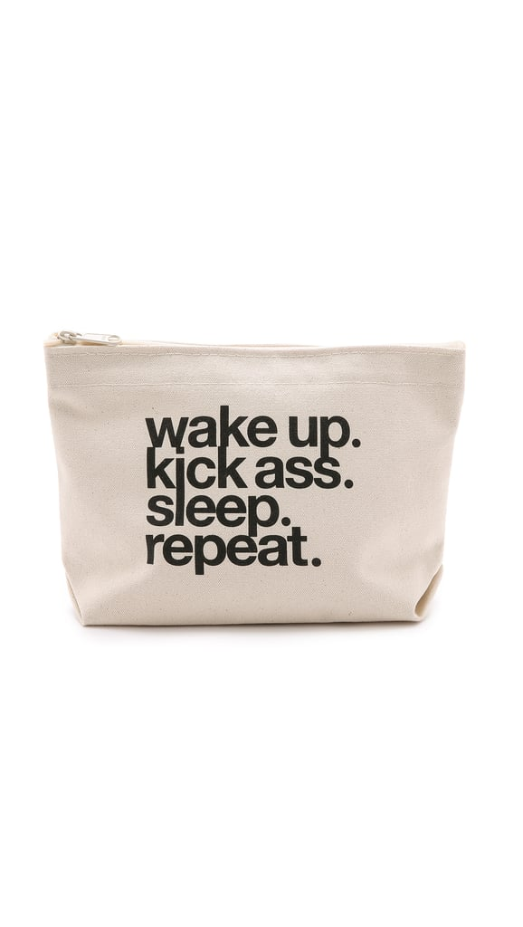Dog Eared Wake Up Pouch ($24)