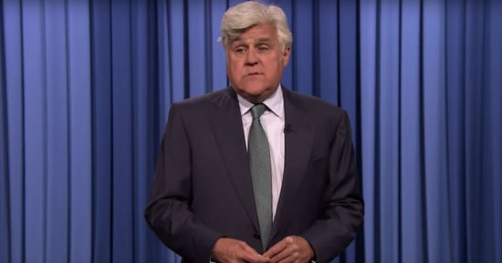 Jay Leno Returns for a Tonight Show Monologue