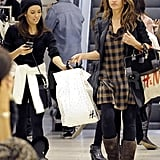 Eva and Monica carried H&M bags.