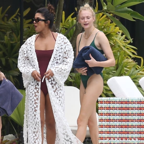 Sophie Turner and Priyanka Chopra Wear Swimsuits in Miami