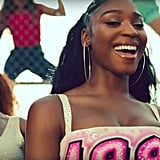 Normani's Makeup in Motivation Music Video