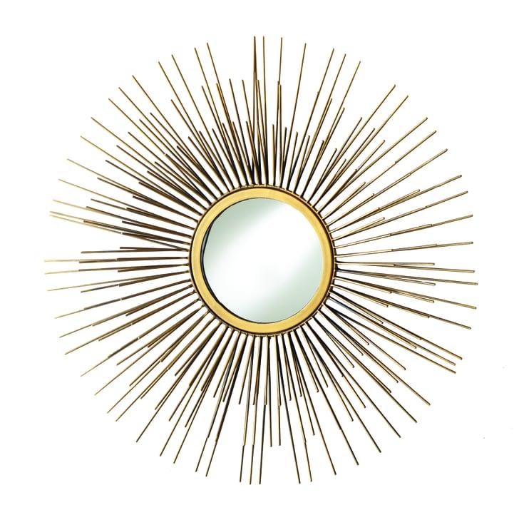 Cost Plus World Market Fall 2016 Collection: Gold Metal Tri Sunburst Mirror ($100)