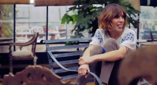 See Alexa Chung Work Her Modelling Skills For Superga In This Cute Clip!