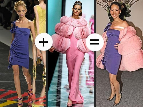 Add It Up: Lucy Liu's Valentino Pastels