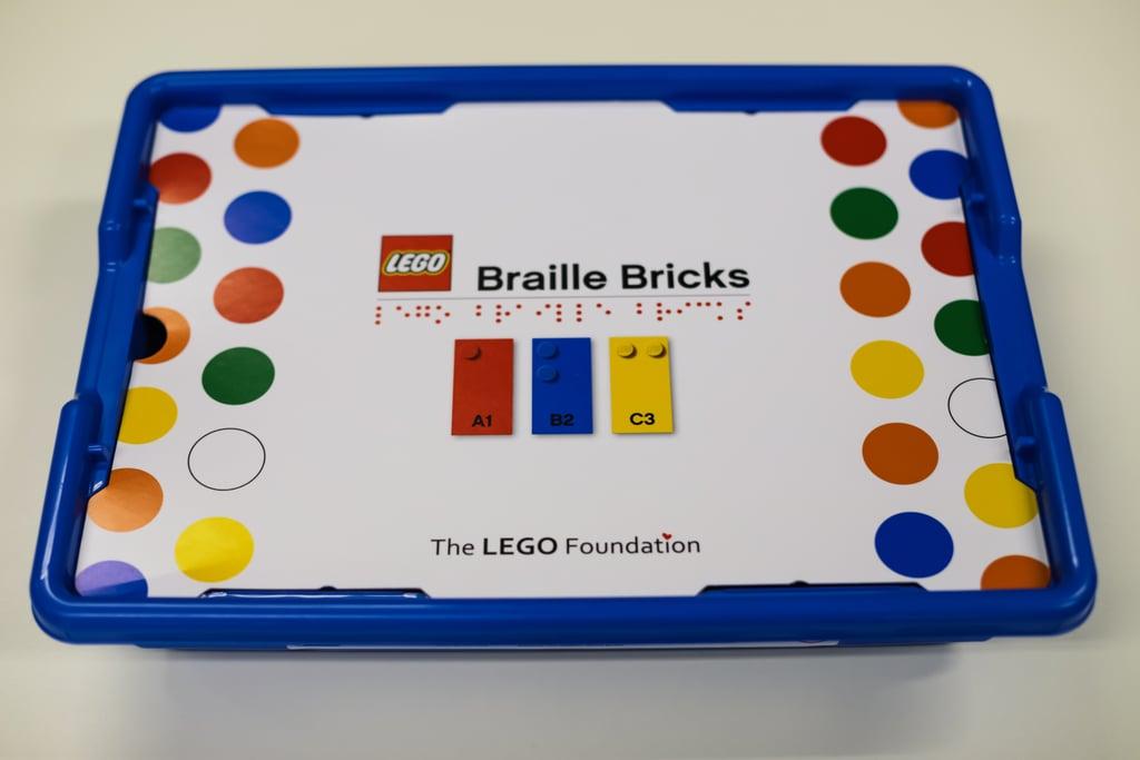 Lego Releasing Braille Bricks