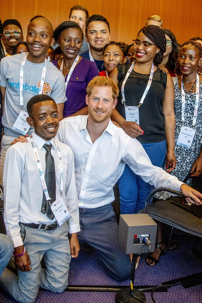 It's been almost 21 years since Princess Diana tragically passed away, but Prince Harry is committed to keeping her memory alive through his philanthropic work. On Monday, the Duke of Sussex officially kicked off his two-day visit to Amsterdam, where he attended the 22nd International AIDS Conference. While there, Harry met with young advocates from his Sentebale charity's Let Youth Lead program and participated in a Facebook discussion about the challenges and experiences of young people dealing with HIV. On Tuesday, Harry is set to reunite with pal Elton John to launch the MenStar Coalition, which is a global AIDS organisation aimed at targeting HIV infections in men. One of the most important causes for Diana was the fight against HIV/AIDS, and it has also become one of Harry's. The royal previously attended the conference back in 2015 in Durban, South Africa, and in 2006, he and Prince Seeiso of Lesotho joined forces to set up Sentebale to raise funds and awareness. We have a feeling Diana would have been proud.       Related:                                                                                                           Are You a True Prince Harry Fan? Take Our Quiz and Prove It!               In conversation with Sentebale youth advocatesThe Duke of Sussex Sentebale Mercy Ngulube, CHIVAPosted by International AIDS Conference on Monday, July 23, 2018