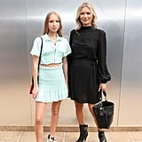 Lila and Kate Moss at the Longchamp New York Fashion Week Show