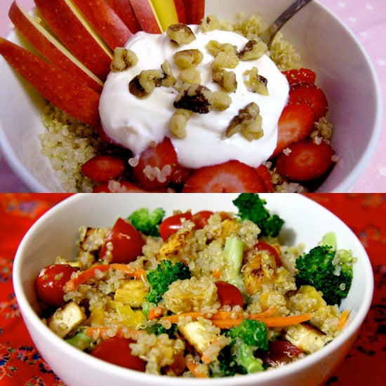 Calorie Breakdowns Save Calories by Choosing This Type of Pasta by Jenny Sugar 5/16/15 Food Pump Up the Nutrition of Quinoa: Add These Foods by Jenny Sugar 7/26/11 Recipes Reader Recipe: Warm Kasha With Cinnamon Apples by OnSugar Blog 10/13/10 Pop Tarts Yummy Links: From Edible Flowers to Tomato Jam by partysugar 7/20/10 Food Learn to Love: Farro - 웹