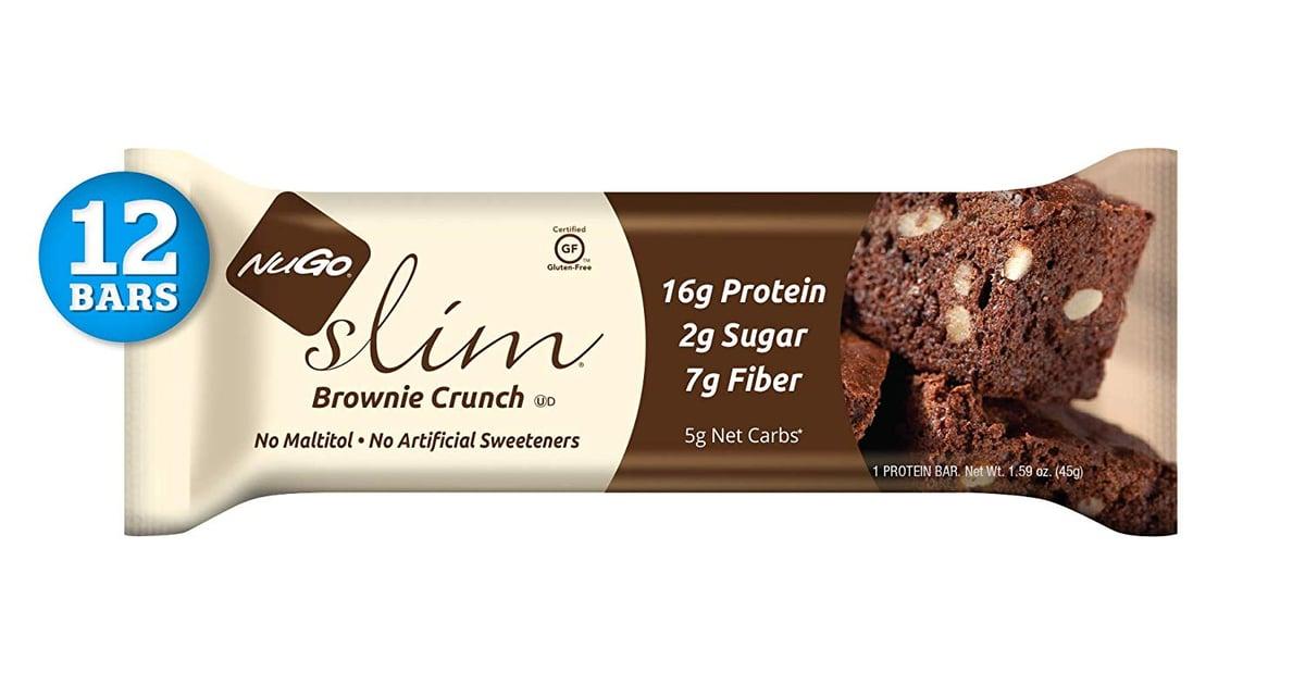 Nugo Slim Gluten Free Brownie Crunch Chocolate Bars Best