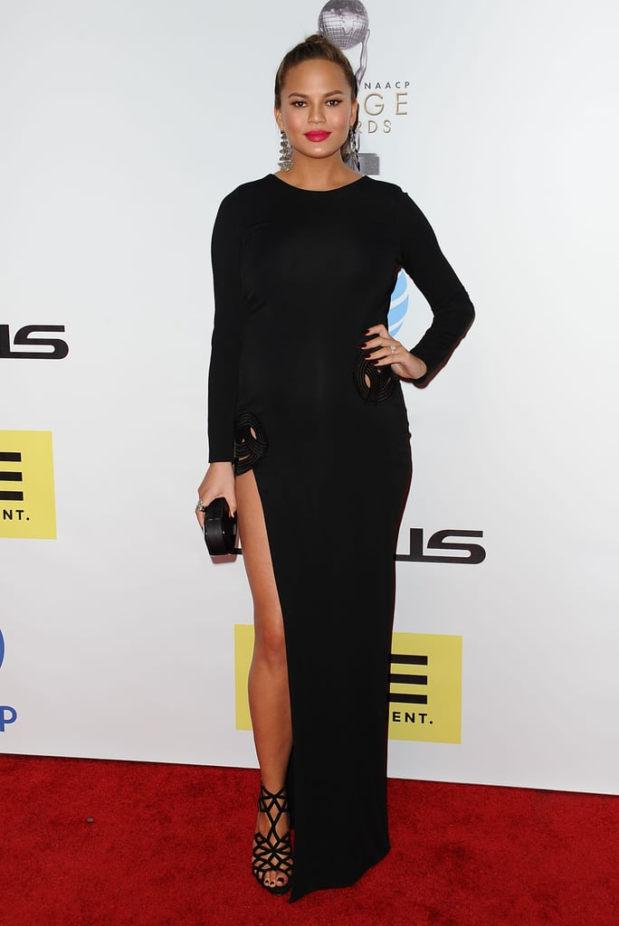 Haney was Chrissy's pick for the NAACP Image Awards.