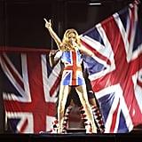 Ginger Spice's British Flag Dress