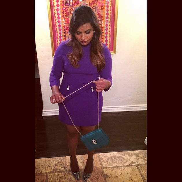 Mindy Kaling Instagrams