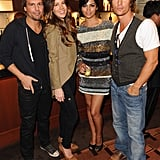 Len Wiseman and Kate Beckinsale turned a premiere into a couples' night with Camila Alves and Matthew McConaughey.