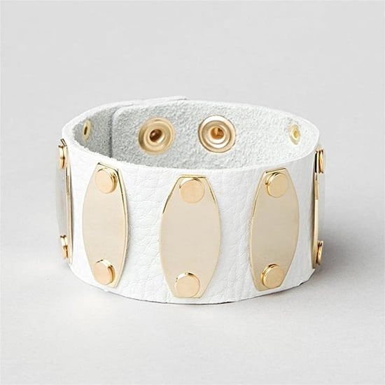 CC Skye Leather Cuff, $22