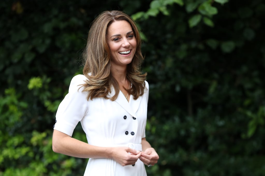 Kate Middleton Wears Her Kids' Initials on a Gold Necklace