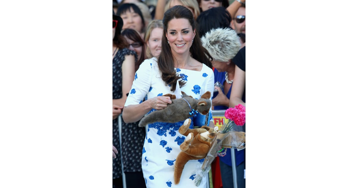 Some Stuffed Kangaroos - William And Kate Marriage