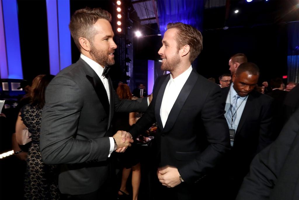 Ryan Gosling Ryan Reynolds at  Critics' Choice Awards 2017
