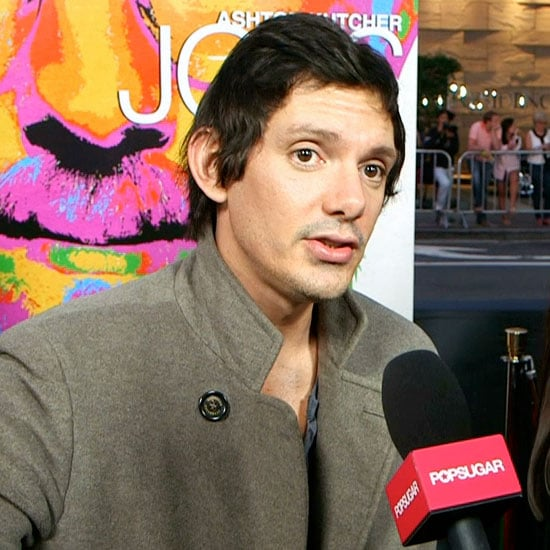 Lukas Haas Interview at the Jobs Premiere (Video)