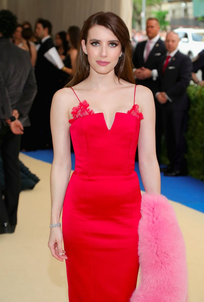 Emma Roberts Met Gala Dress 2017
