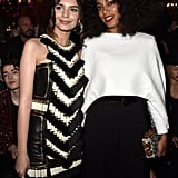 . . . and Solange Knowles . . .