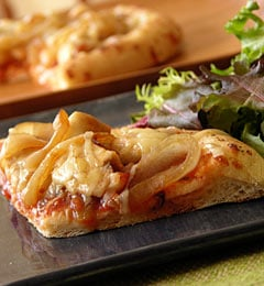 Fast & Easy Dinner: Chicken and Onion Pizza