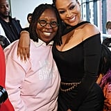 Whoopi Goldberg and La La Anthony