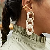 Mirador Resin Link Drop Earrings