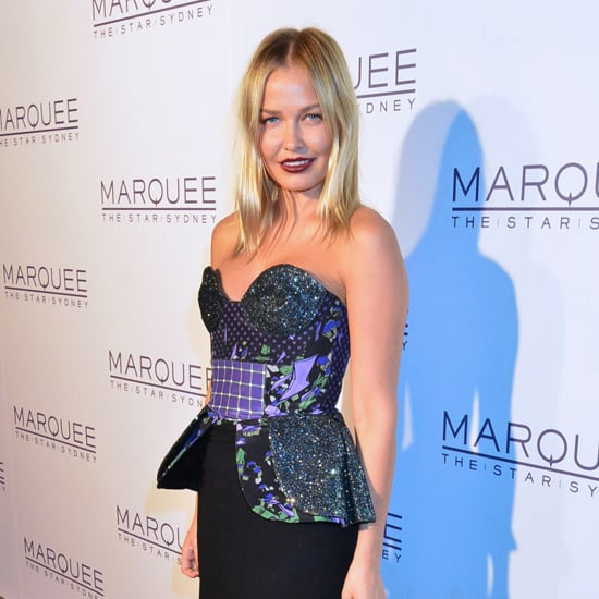Lara Bingle Pictures in Romance Was Born at Marquee Sydney