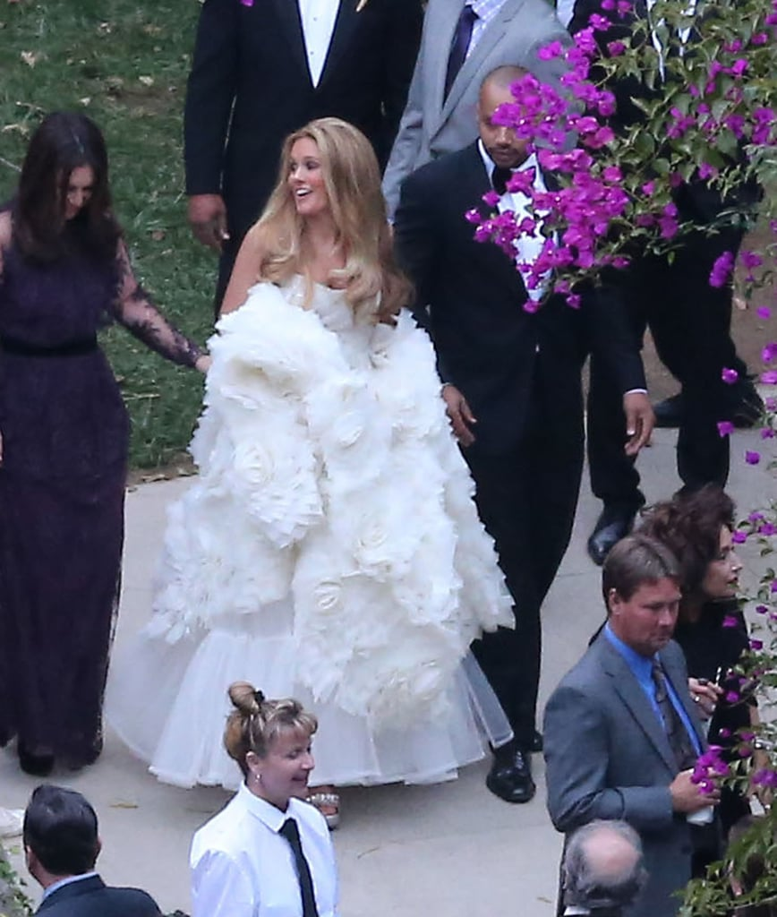 Jessica Simpson At Cacee Cobbs Wedding Pictures Popsugar