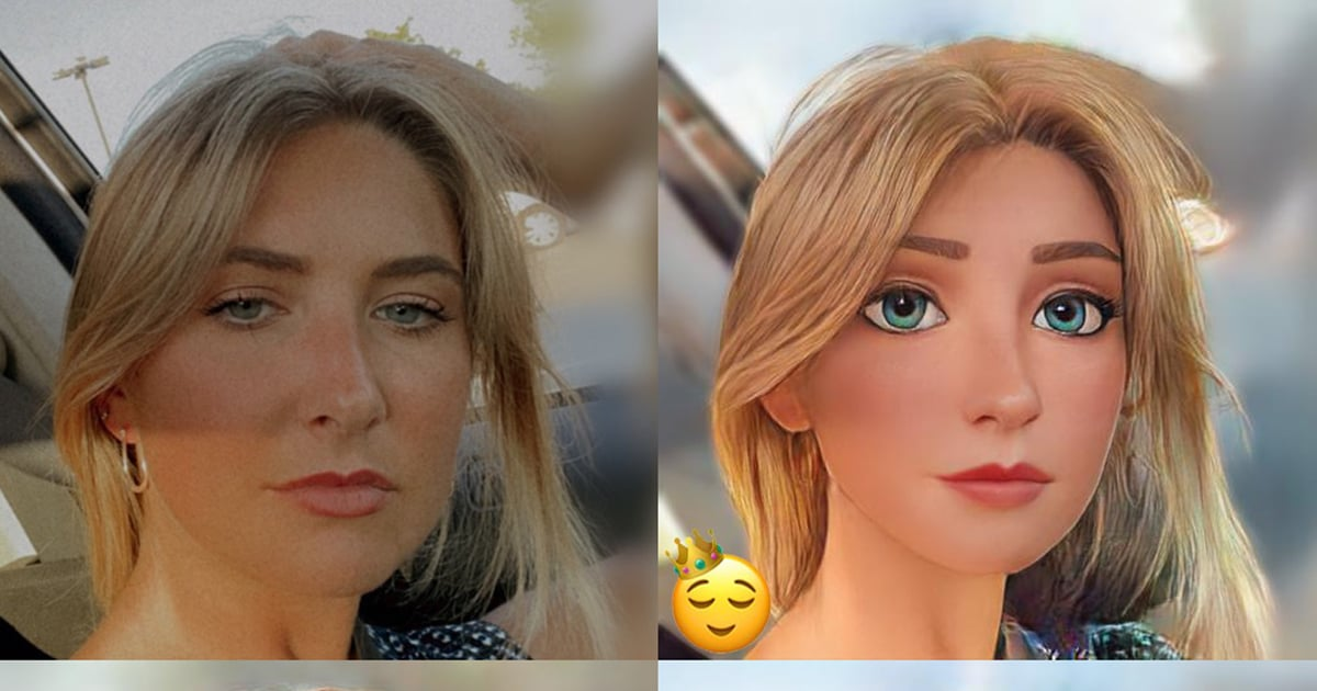 Turn Into a Pixar or Disney Movie Character With This Filter Taking Over Facebook and Instagram