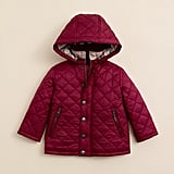 This is one seriously chic girls quilted jacket ($165) thanks in part to the elbow patch detail.