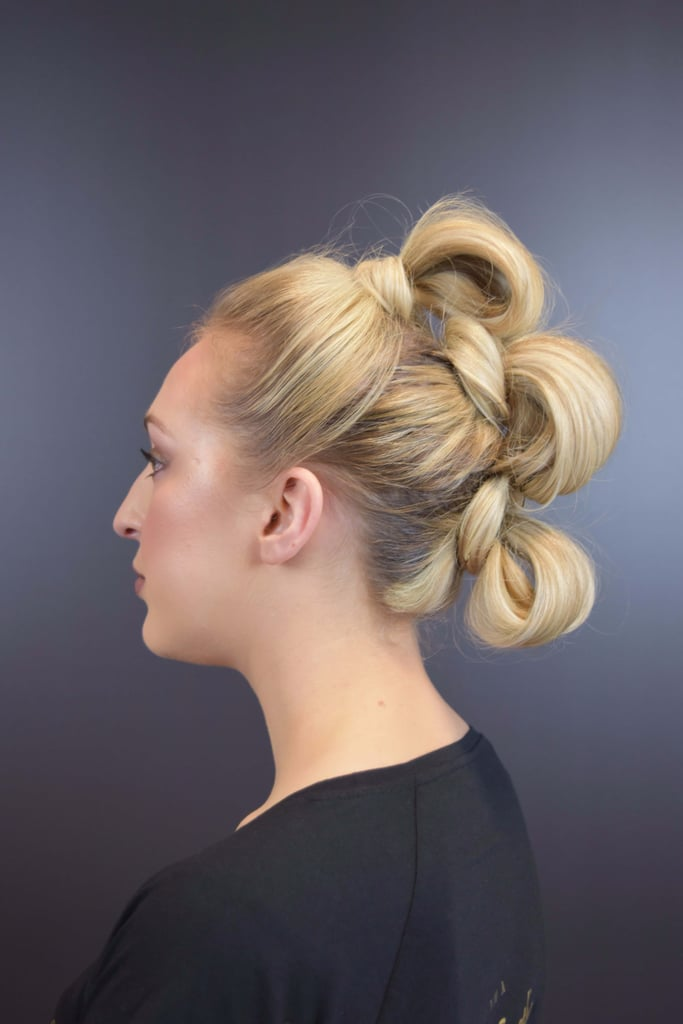 Star Wars Rey Triple Knot Hairstyle