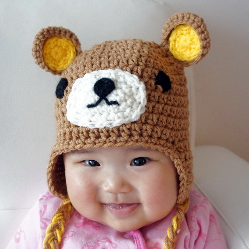 StylishBabyHats Relax Bear Hat
