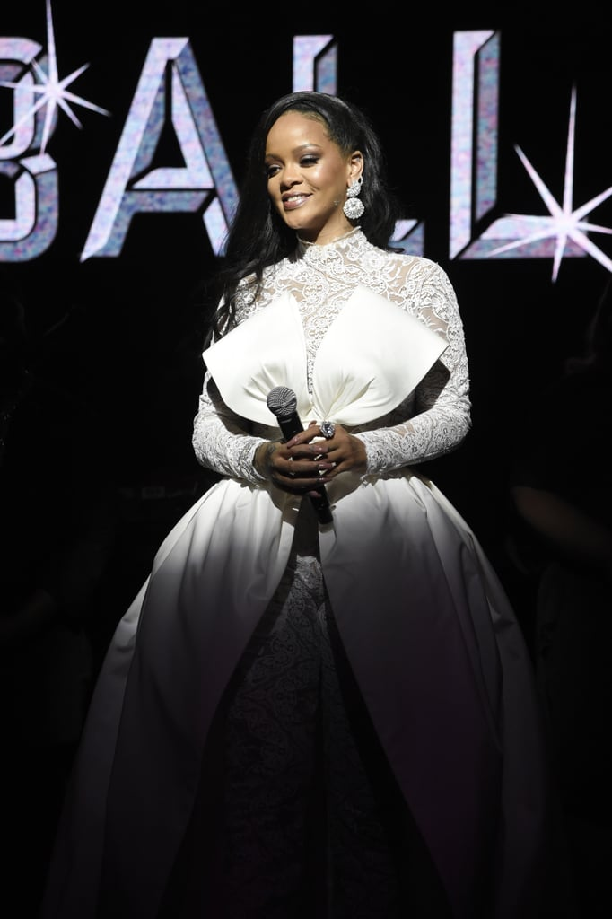 "Rihanna's fifth annual Diamond Ball is set to take place in NYC on Sept. 12. For those who aren't familiar with the glamorous charity event, the ball benefits Rihanna's Clara Lionel Foundation, an organization that supports and funds ""groundbreaking and effective education and emergency response programs around the world"" through education projects, scholarships, health care, grants, and other initiatives. The charity was named after the 31-year-old singer's grandparents, Clara and Lionel Braithwaite. Since it was created in 2012, the organization has funded over 45 projects and raised more than $7 million in grants.  The ball has previously been hosted by Issa Rae, Dave Chapelle, Jimmy Kimmel, and Kevin Hart and has included star-studded guest lists featuring celebrities like Beyoncé, JAY-Z, Salma Hayek, and Kendrick Lamar. Rihanna always brings her family as her dates, including her mom, Monica Braithwaite, and 5-year-old niece Majesty. This year, Seth Meyers will have the honor of hosting, and Pharrell Williams and DJ Khaled will be performing. Ahead, see the best photos from past Diamond Balls."