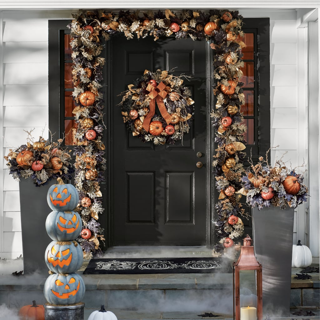 Halloween Decorations Home: Falloween Greenery Collection