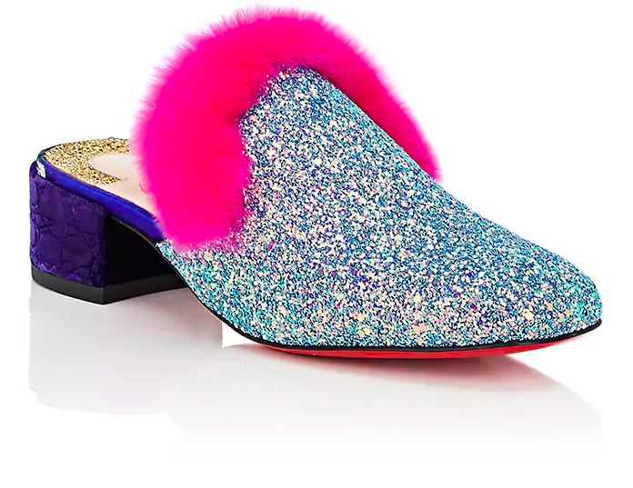Christian Louboutin Boudiva and Fur Mules
