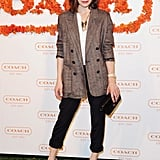Milla Jovovich at Coach's third annual Evening of Cocktails and Shopping in Santa Monica.