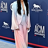 Kacey Musgraves Hair at Academy of Country Music Award 2019