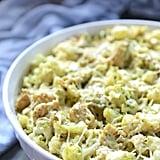 Chicken Pesto Cauliflower Casserole