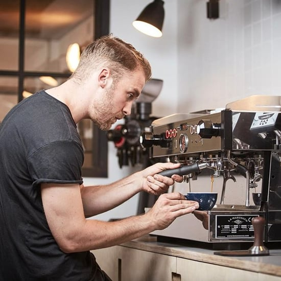 Photos of Hot Male Baristas Making Coffee