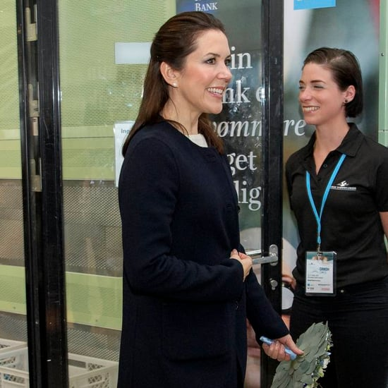 Princess Mary Wearing Flared Jeans April 2016
