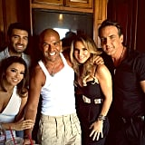 Eva Longoria on the Set of Telenovela