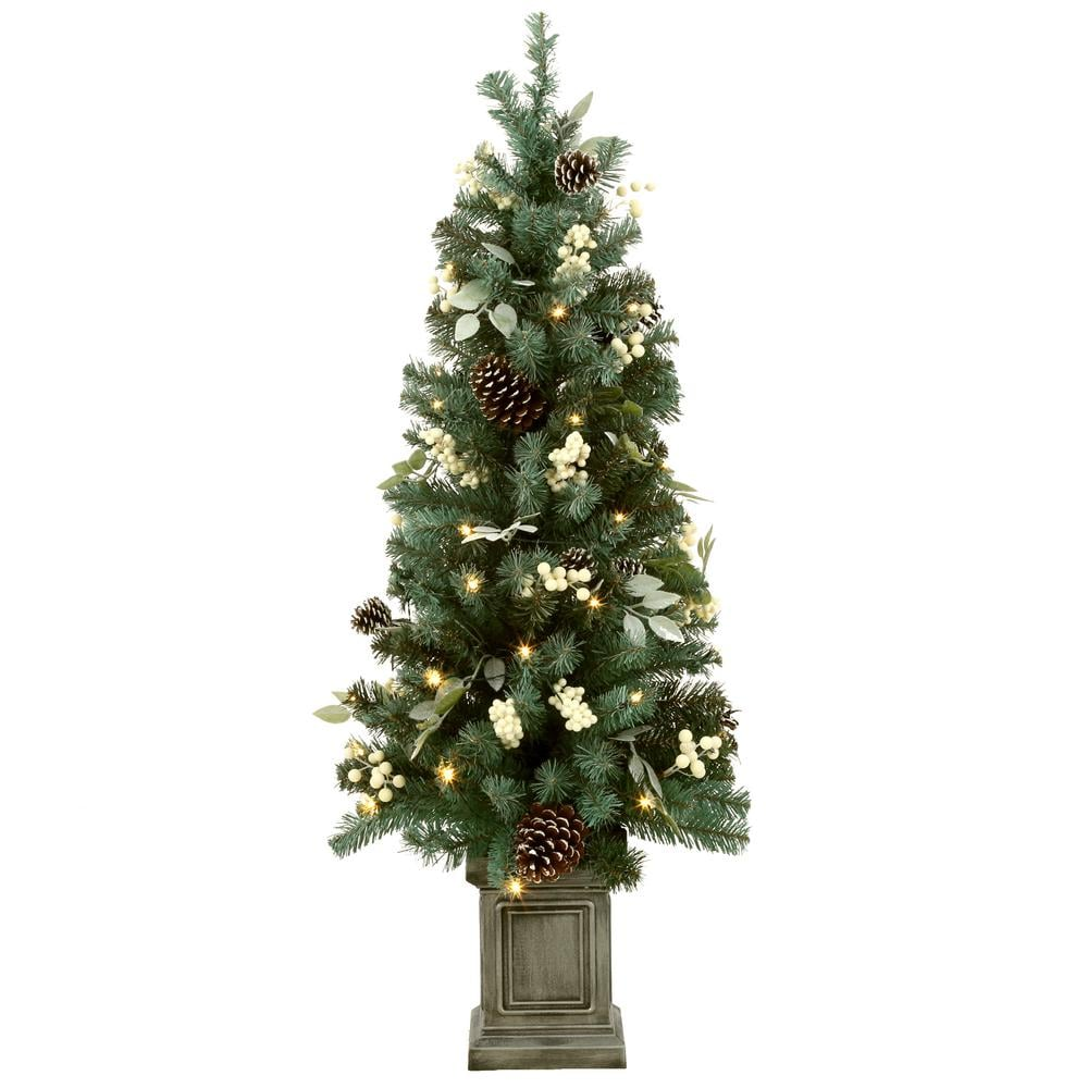 Home Accents Holiday 4 Ft. | Home Depot Christmas Trees ...