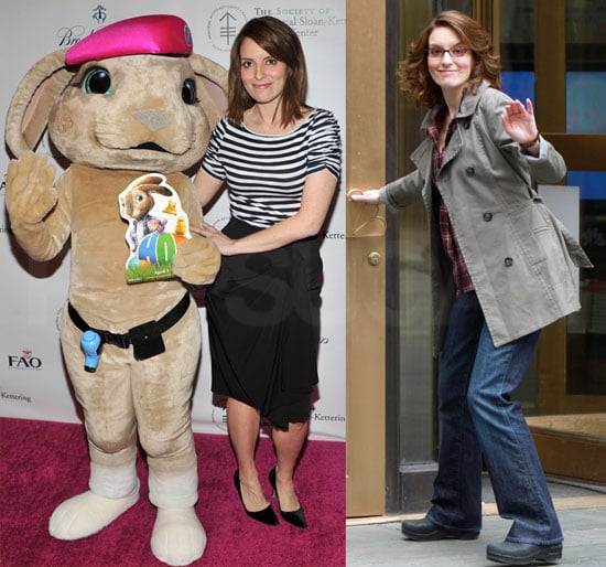 Pictures of Tina Fey at the Society of MSKCC's 20th Annual