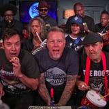 "Metallica Sing ""Enter Sandman"" With Jimmy Fallon"