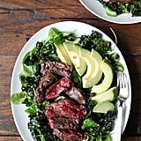 Steak, Avocado, and Kale Salad