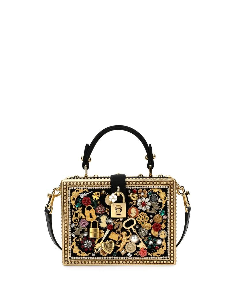 170f530ec62 Dolce   Gabbana Charmed Box Bag