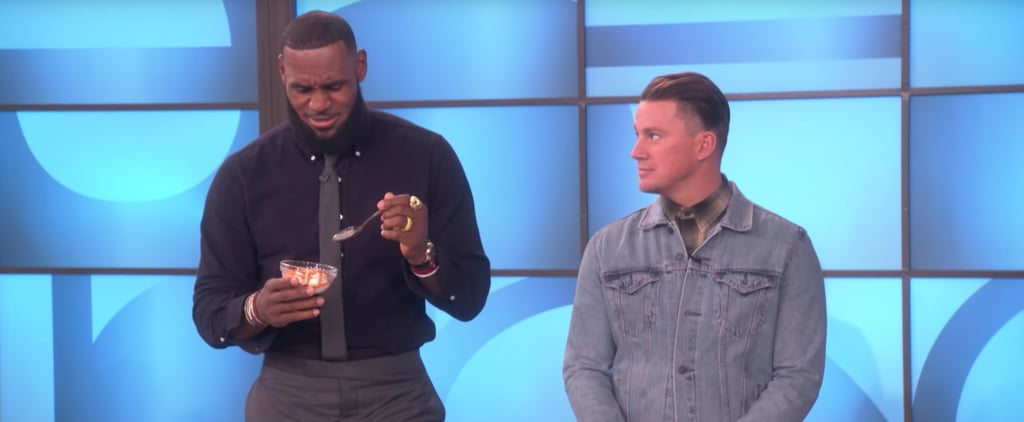 LeBron James and Channing Tatum Dares on The Ellen Show